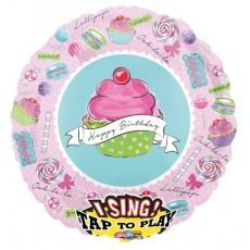 Spievajúci balón Muffinka