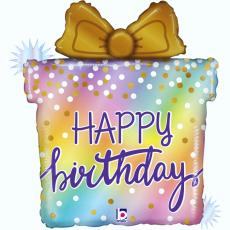 Narodeninový balón Darček Happy Birthday