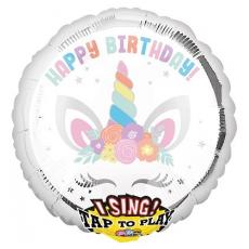 Balón spievajúci Jednorožec