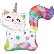 Balón Mačka jednorožec US
