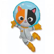 Balón Mačka Kozmonaut