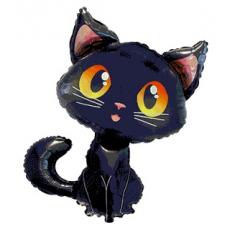 Balón Mačka čierna