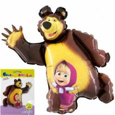 Balón Máša a Medveď