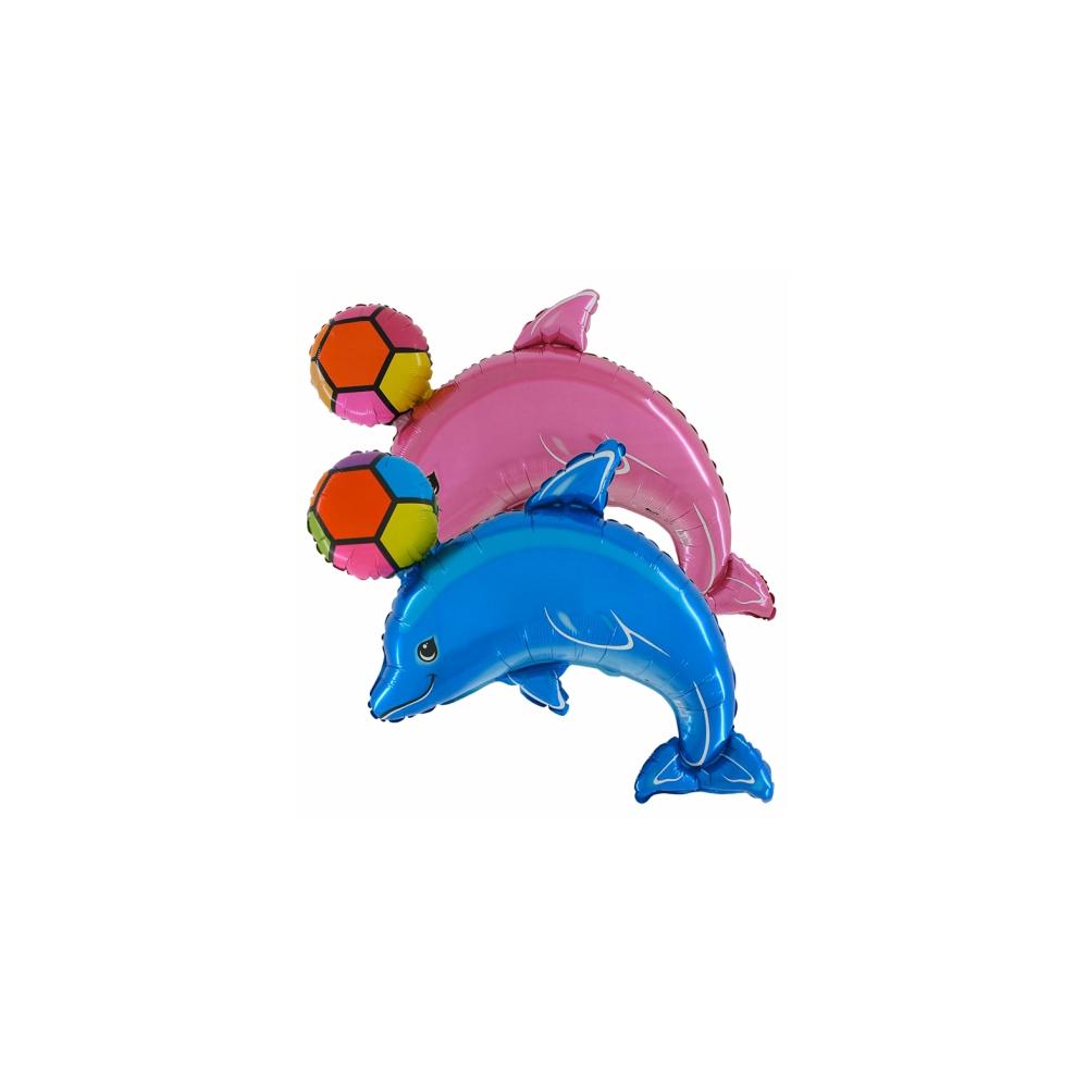 Balón Delfín s loptou