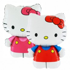 Balónik Hello Kitty mašľa