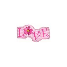 Balón Love - pásik