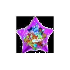 Balónik Winx hviezda