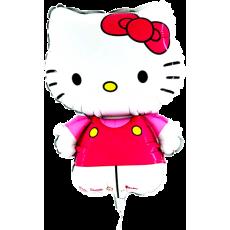 Balónik Hello Kitty mašľa