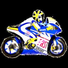 Balónik Motorka