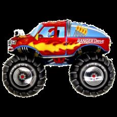 Balónik Monster truck červený