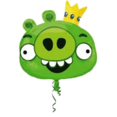 Balonik Angry Birds Prasa