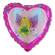 Balón Víla ružová