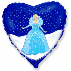 Balón Ľadová princezná Srdce