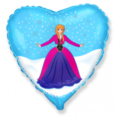 Balón Ľadová kráska Srdce