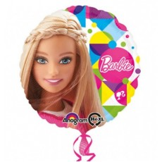 Balón Barbie kruh US