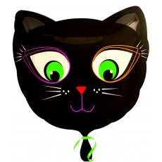 Balón Mačka čierna hlava US