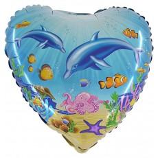 Balón Delfíny more