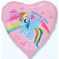 Balón My Little Pony Dúha