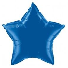 Balón hviezda Modrá tmavá