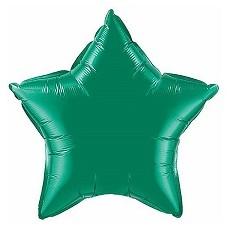 Balón Hviezda Tm. zelená