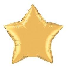 Balón hviezda Zlatá