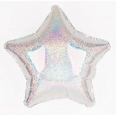 Balón hviezda holografická