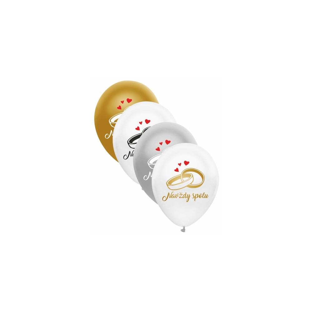 Balóny svadobné Navždy spolu