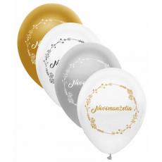 Balóny svadobné Mladomanželia zlaté