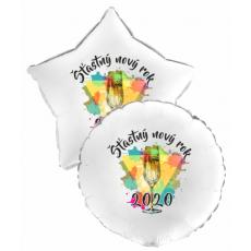 Balón Šťastný Nový Rok 2020