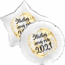 Balón Šťastný Nový Rok 2021 1