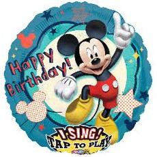 Balón spievajúci Mickey Mouse