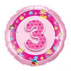 Balón číslo 3 Víly
