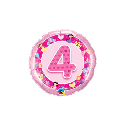 Balón číslo 4 Princezná