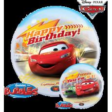 Balón Q Bubbles McQueen BDay No.1