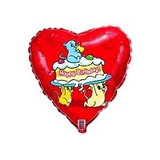 Balón Myšky s tortou