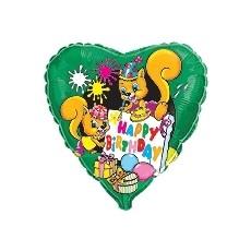 Balón Veveričky