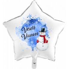 Balón Vianoce 1 hviezda