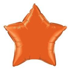 Balón Hviezda Oranžová