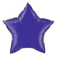 Balón Hviezda Tm. Fialová