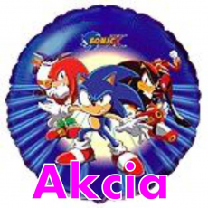Balón Sonic Tm Modrý