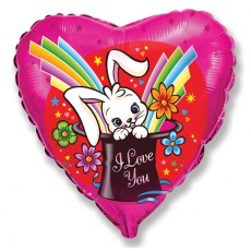 Balón I love you zajac