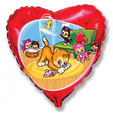 Balón Hravé Mačiatka