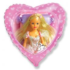 Balón Sindy bledo ružová