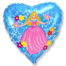 Balón Princezná srdce