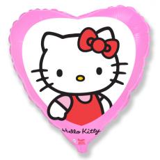 Balón Hello Kitty v Srdiečku