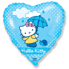 Balón Hello Kitty dáždnik