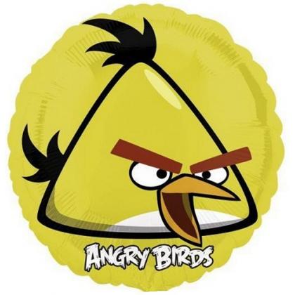 Balón Angry Birds žltý US