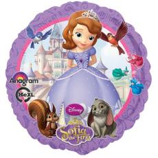 Balón Sofia kruh US