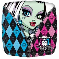 Balón Monster High štvorec US