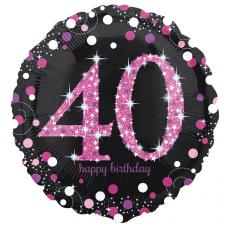 Balón číslo 40 bodky
